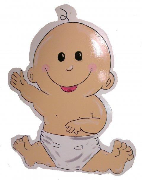 Baby D groot foto