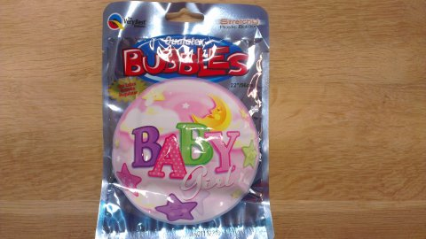 Babygirl Folieballon foto