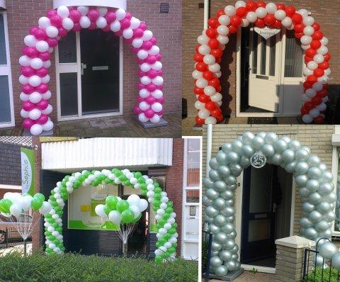 Stef verhuur te enschede doe het zelf ballonnen boog pakket for Ballonnen versiering zelf maken