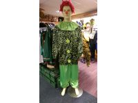 Clown groen S