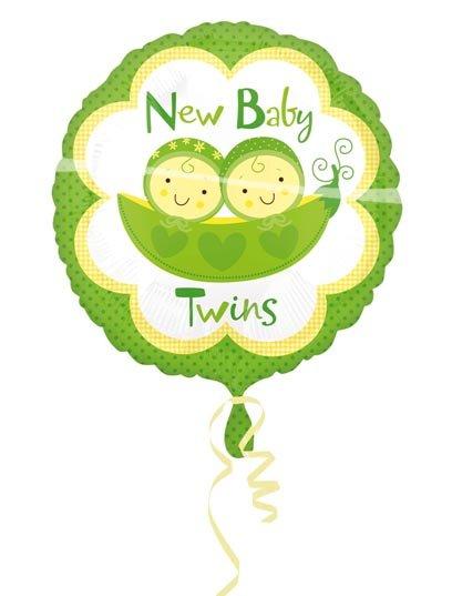 Tweeling Folieballon foto