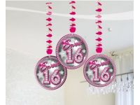 Sweet 16 Hanging deco