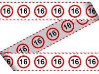 Markeerlint verkeersbord 16