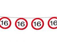 Vlaggenlijn Verkeersbord 16