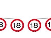 Vlaggenlijn Verkeersbord 18