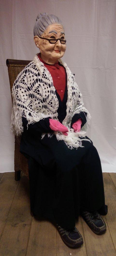 Sara pop in nette jurk (Sientje) foto