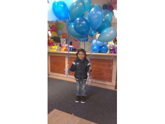 Helium ballon decoratie 10st met gewichtje