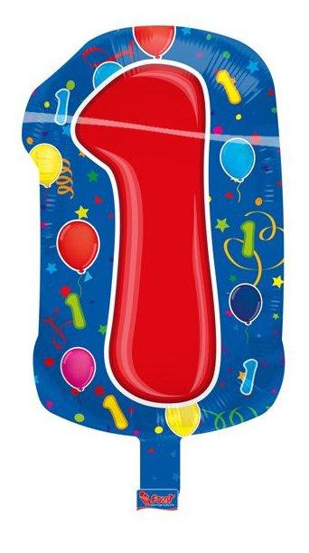 Leeftijd folie ballon 1 foto