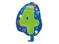 Leeftijd folie ballon 4