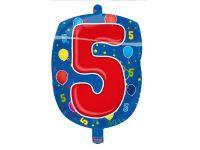 Leeftijd folie ballon 5