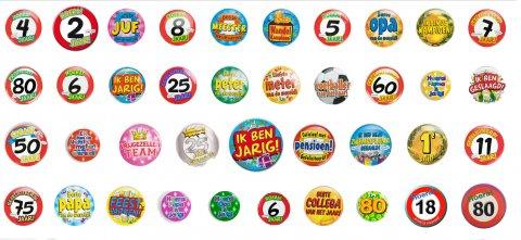 Je eigen button ontwerpen foto