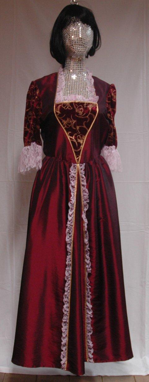 Venetiaanse jurk maat 42 foto