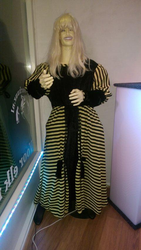 Dickens jurk maat 50 foto