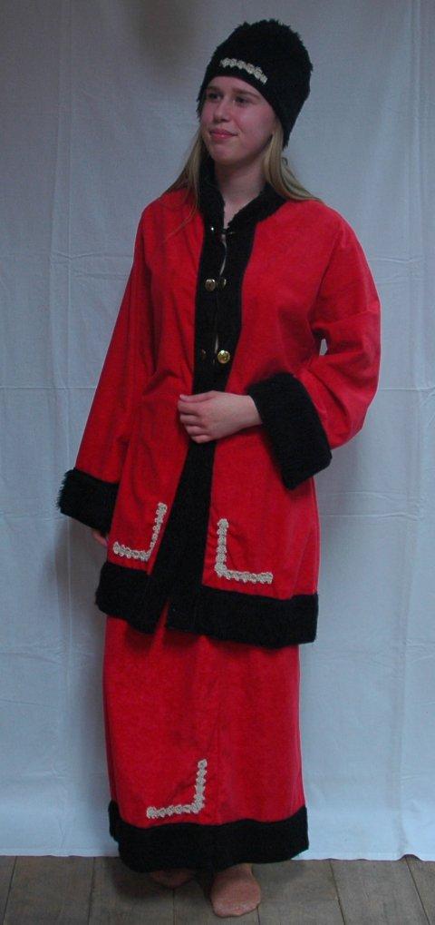 Kozak (Rus ) kostuum V maat 42 foto