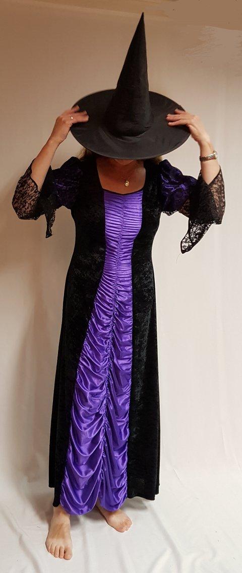 Gothic jurk foto