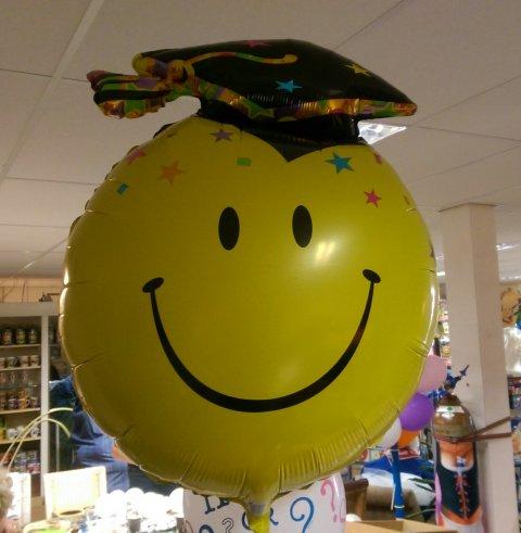 Graduate folieballon 91cm foto