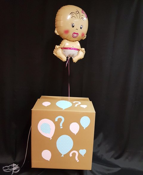 Gender Reveal Box 1 foto