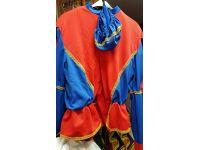 Pietenpak  rood/blauw 56