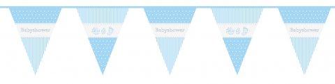 Babyshower vlagenlijn Jongen 10m foto