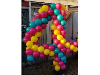 Ballonnen getal 4