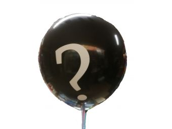 Gender reveal ballon met ???
