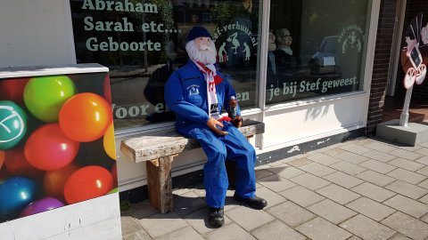 Abraham in een overal (Willem) foto