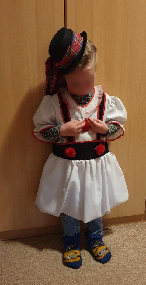 Sneeuwpop jurkje foto