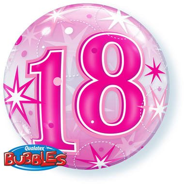 18 jaar folieballon foto