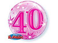 40 jaar folieballon