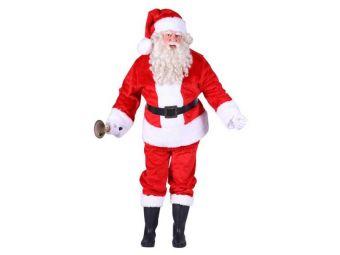 Kerstman kostuum pluche xl