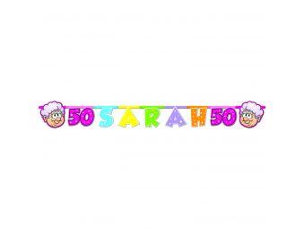 Sarah rainbow letterslinger