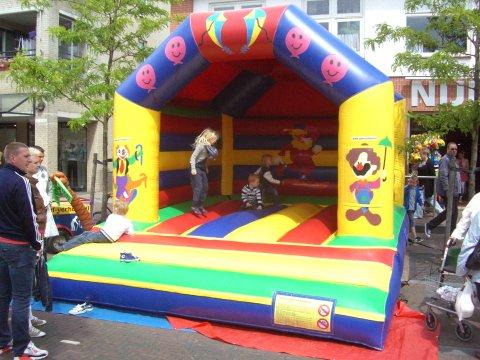 Springkussen Circus foto
