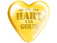 Big Sign Hart van goud