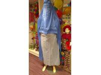 Burka blauw m