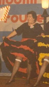 Cancan dansjurk foto