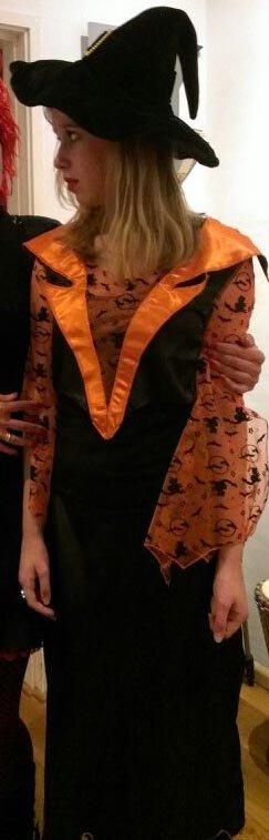 Heksenjurkje oranje foto