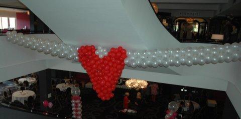 Ballonnen guirlander foto