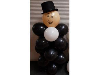 Bruidegom van ballonnen