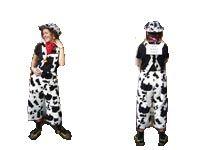 Koeienbroek + hoed